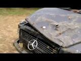 Превратил Mercedes Class G в сарай